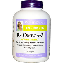 Natural Factors, WomenSense, RxOmega-3, Women
